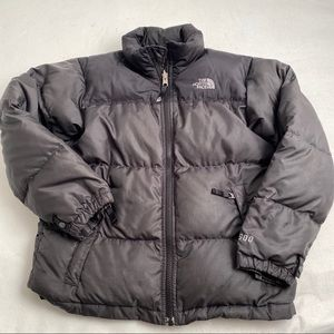 The North Face black 600 fill goose down coat